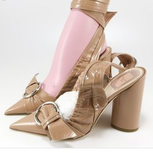 "Christian Dior Nude Patent ""Conquest"" pump"